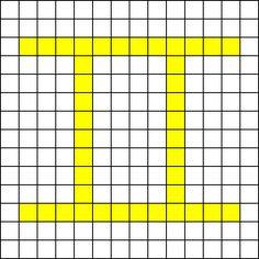 Gemini Perler Bead Pattern / Bead Sprite