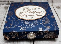Ann's Happy Stampers: Sectioned Gift Box for Nail Polish