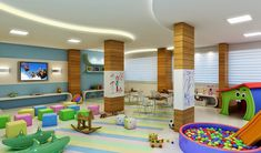 Brinquedoteca After School, Pre School, Indoor Playroom, Home Daycare, Kid Spaces, Kids Room, Kindergarten, Projects To Try, Photos