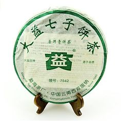 $69.98 + $2.99 shipping  Sunny Hill Menghai Dayi 7542 Raw Tea Chinese Yunnan Puer Tea Puerh Health Care Products Tea For Weight Loss (Year of Production:2006) Da Yi http://www.amazon.com/dp/B00U5MQ1WY/ref=cm_sw_r_pi_dp_Hlpqwb13J769G