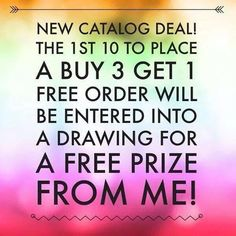 1st 10 to buy 3 get 1 free gets a prize shop here jamminwrapswithmichelle.jamberry.com