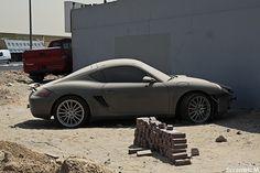 Abandoned Porsche Cayman