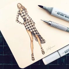 41.6k Followers, 473 Following, 1,085 Posts - See Instagram photos and videos from Thea Granath 🇺🇸🇸🇪 (@theagranath) Dress Design Sketches, Fashion Design Sketchbook, Fashion Design Drawings, Fashion Sketches, Fashion Drawing Dresses, Fashion Illustration Dresses, Arte Fashion, Illustration Mode, Fashion Figures