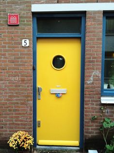 Amsterdam via A Beautiful Mess Yellow Doors, Front Gates, Amsterdam Travel, Flower Market, Beautiful Mess, Make Time, Bottle Opener, Sweet Home, New Homes