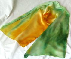 Silk Scarf Silk Silk Satin ScarvesWomen's Fashion by MysticSilks, $37.00