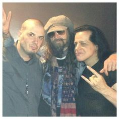 Phill, Rob and Danzig!