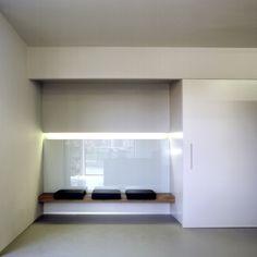 'Mirror' hairstudio in Genk, Belgium by Belgian Architect Karla Menten