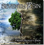 Seventh Sin - When Reality Ends - Cover Front