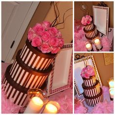 Pink Centerpieces Juicy Couture