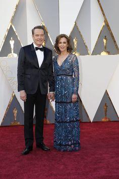 Bryan Cranston and Robin Dearden #Oscars2016