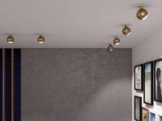 Acheter en ligne Bo-la 6553 by Milan Iluminación, spot led orientable pour plafond en abs design Jordi Jané, collection Bo-la