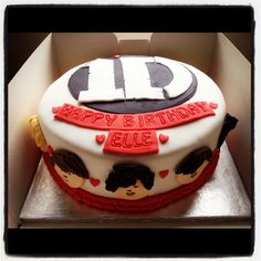 One Direction cake- something similar for A's b-day