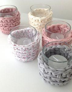 Add some Tarn {T-shirt Yarn} to your ordinary decor. http://www.tarnsa.co.za/
