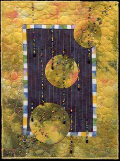 QM Shorts: Alzheimers Benefit Quilts Solar eclipse Nancy Lee Chong
