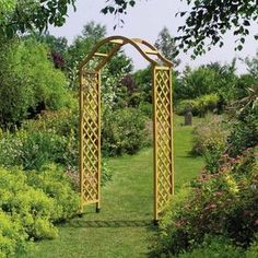 The Dorchester Wooden Garden Arch