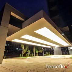 Quadros móveis com Telas Tensoflex Translúcidas - Edifício Ventur Faria Lima…
