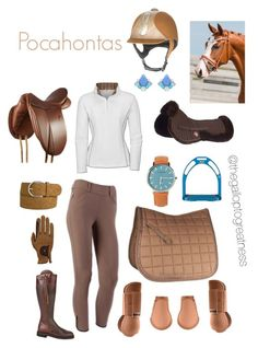 """""""Pocahontas"""" by thegalloptogreatness on Polyvore featuring Roeckl Sports, Forever New, The Horse and Imperia"""