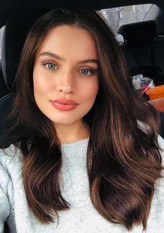 22 beautiful eye makeup for green eyes - Beautiful women faces - Haarfarben Brown Hair Shades, Brown Hair Colors, Hair Color Green Eyes, Brown Hair Green Eyes, Brown Eyes, Beautiful Eye Makeup, Gorgeous Eyes, Beautiful Women, Brunette Makeup