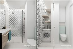© Devangari Design www. Stacked Washer Dryer, Washer And Dryer, Home Appliances, Living Room, Interior Design, Electrical Appliances, Interior Design Studio, House Appliances, Sitting Rooms