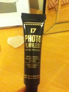 Seventeen photo flawless - creates a lovely finish to your foundation!