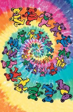 d64e585bfe52d Grateful Dead - Spiral Bears