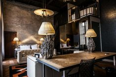 This luxury boutique hotel is set in a monumental building from the 1950s, in the heart of beautiful Middelburg, capital of the province of Zeeland. It is named and themed after the former US president, who's ancestors came from Zeeland. The glamorous interiors refer to Roosevelt's presidency in the 1930s and 40s. The hotel has a wine bar, restaurant and walled garden under the 14th-century abbey tower. Walled Garden, 14th Century, 1930s, Netherlands, Tower, Restaurant, Interiors, Wine, Bar