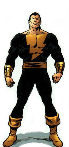 Black Adam by John Byrne
