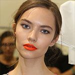 Trend: neon oranje lippen - Trendystyle, de trendy vrouwensite