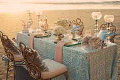 Moroccan Wedding Table Setting