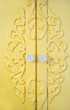 French doors, lemon colors