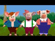 los tres cerditos y el lobo feroz cuentos y videos infantiles en