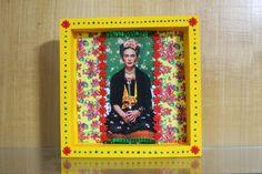 """Oficina criativa: """"Frida, mulher de flores"""" - foi assim   Wau IdeiasWau Ideias"""