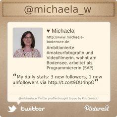 @michaela_w's Twitter profile courtesy of @Pinstamatic (http://pinstamatic.com)