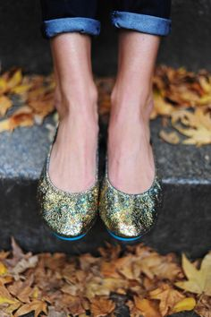 Want!!!   Christine of NYC Pretty in her Starstruck Tieks