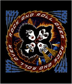 Rock and Roll Over Kiss Skin! #Kiss #Kissband