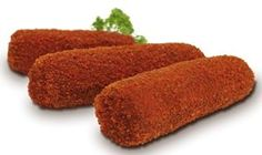 Kroket is a delicious food from Netherlands. Learn to cook Kroket and enjoy traditional food recipes from Netherlands. Dutch Croquettes, Croquettes Recipe, Dutch Recipes, Cooking Recipes, Belgian Recipes, Mince Recipes, German Recipes, Hungarian Recipes, Netherlands Food