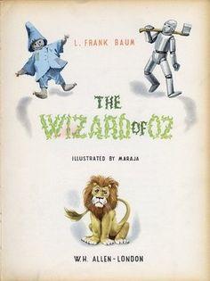 Wizard of OZ Illustrations.
