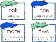 This is an alligator themed list of Fry's first 100 sight words for… Sight Words List, Sight Word Games, Sight Word Activities, Kindergarten Literacy, Literacy Centers, Preschool, Sight Word Flashcards, Reading Intervention, Magic Words