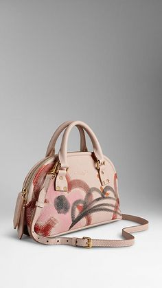 Burberry - Small Bloomsbury in Hand-painted Grainy Leather