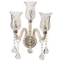 Applique Crystal Argent 3x40W Boutica-Design