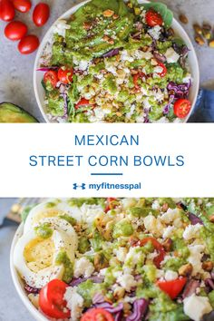 These bowls are a fun and healthy riff on Mexican grilled corn on the cob.