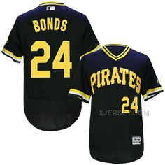 http://www.xjersey.com/pirates-24-barry-bonds-black-throwback-flexbase-jersey.html Only$35.00 PIRATES 24 BARRY BONDS BLACK THROWBACK FLEXBASE JERSEY #Free #Shipping!