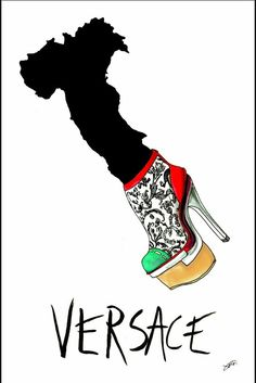 Shoe illustration - achraf amiri