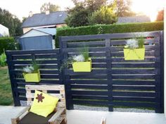 Using pallets in the garden - Little Piece Of Me