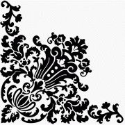 Corner design ornament vector. good site for patterns