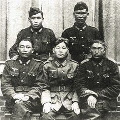 Korean Wehrmacht soldiers. http://news.ifeng.com/history/shijieshi/200911/1103_7182_1417305.shtml