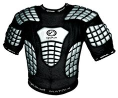 Optimum Matrix IRB Approved Rugby Union Shoulder Pads Large #Optimum