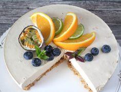 Ranteita myöjen taikinasa: Mokka-appelsiinijuustokakku