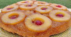 Booze and cake – two of my favorite things. When you put them together? It's pretty much heaven. My sister-in-law's mother makes the most ... Pineapple Rum, Pineapple Upside Down Cake, Pineapple Slices, Rum Cake, Amaretto Cake, Gingerbread Cake, Spiced Rum, Yellow Cake Mixes, Cupcake Cakes
