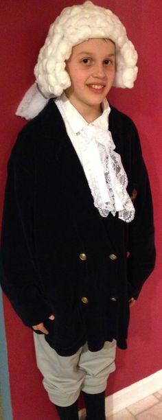 George Washington wig